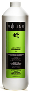 alcohol free vanilla extract 1L